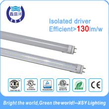 Tubos del LED T8 18W 1200m m DLC UL ETL Aislado conductor 5 Años de garantía