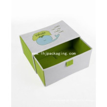 Hochwertige Hochzeitsverpackung Schublade Papierkiste mit Multifunktionsleiste