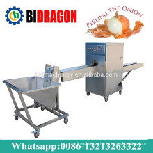 Onion Processing Machine For Peeling And Cutting