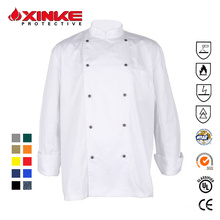 Xinke protective comfortable chef uniform for restaurant