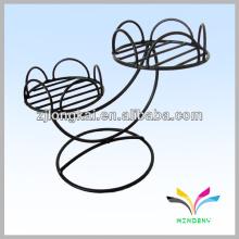 Caliente-venta de acciones de metal decorativo bien de interior de hierro forjado Pot de flores Stands