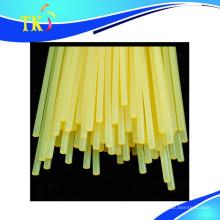 Schmelzklebstoff / gelber transparenter Heißklebestift