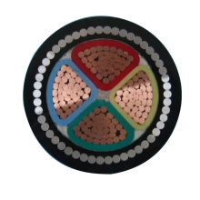 4 núcleo de 4mm de pvc cobre blindado 4 núcleo 25mm cabo de alimentação 5x4mm2