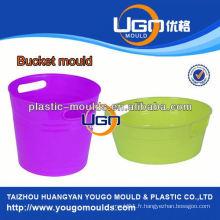 Fournisseur évalué moulage moulage en plastique usine / moule à godet fabriqué en Chine