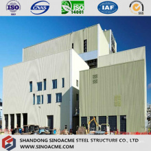 Peb Steel Frame for Industrial Plant with Overhead Crane