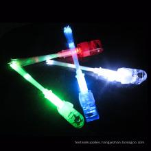 Led laser finger beams with fiber