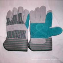 Кожаные перчатки рабочие перчатки