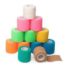 Échantillons gratuits Non-tissés Bande de coton élastique pour sports