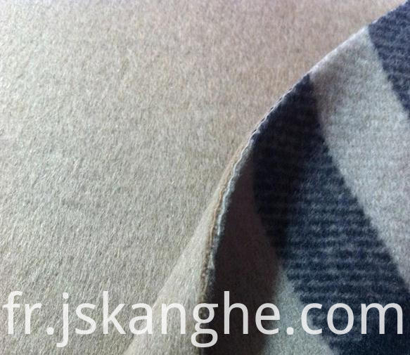 PVC coated double-faced fabric