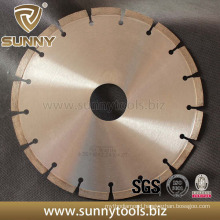 Diiamond High Frequency Welding Circular Saw Blade for Stone (SY-DCB-574)