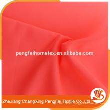Tissu en microfibre rouge pastèque pour la literie