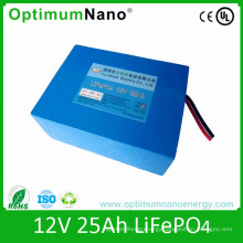 LiFePO4 12V 25ah UPS Battery