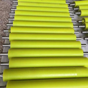 Высококачественный ролик с вулканизированным резиновым покрытием на заказ