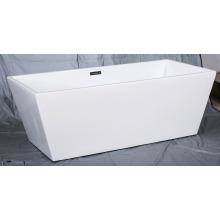 Quadratische Acryl-Enge-Rand-freistehende Badewannen