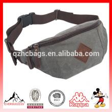 Портативный мода мужчин и женщин небольшой холст Фанни пакеты мешок для Пешие прогулки бег Спорт