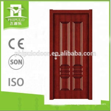 Modern design melamine HDF door popular in India market