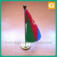 Bandeira de mesa de mão