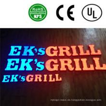 Hochwertige LED Outdoor / Indoor beleuchtete Letter Signs