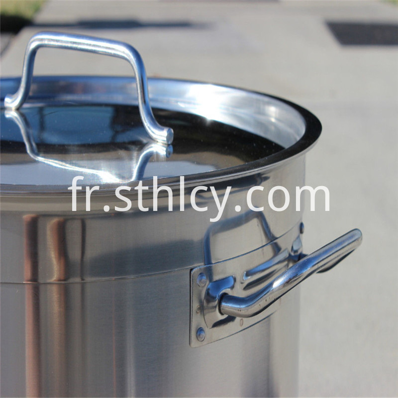 50 liter stainless steel soup pot bucket
