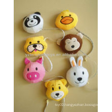 5cm Lovely plush animal toys with portable