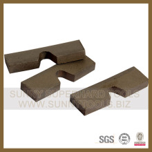 Granite Segment Schneiden Grantie Segment