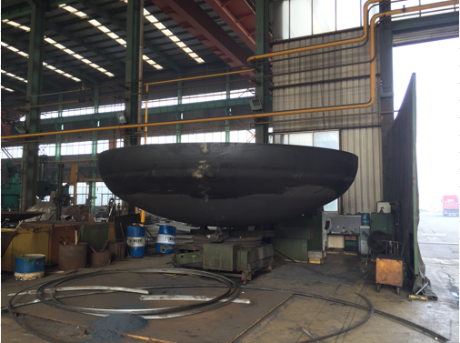 2: 1 Ellipsoidal Dishend Stainless Steel