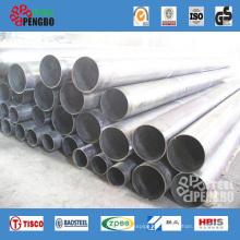 Tubería de acero sin costura de acero inoxidable AISI (TP304L TP316L TP310S)