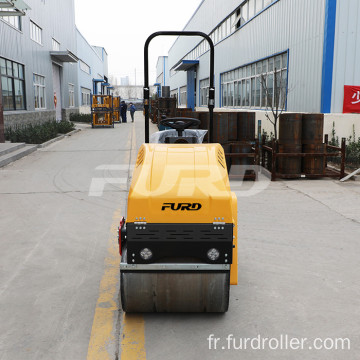 Compaction Equipment 1 ton Vibratory Road Roller Machine