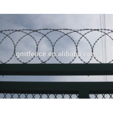 Fence usage high tensile strength hot dip galvanized razor barbed wire