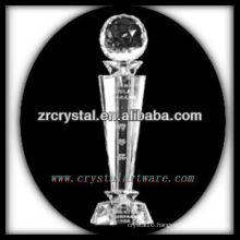 attractive design blank crystal trophy X015