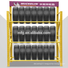 Medium Heavy Duty Cold Rolled Steel Storage/Display Shelves for Tyres in 4S Store