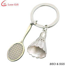 Promotion Gift Metal Badminton Keychain (LM1432)