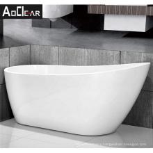 Aokeliya Canada simple bath shower tub freestanding bathtubs with a single drainer
