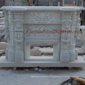 White Marble Fireplace for Indoor Decoration (SY-MF001)