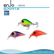 Angler Select Crankbait Swimbait Fishing Tackle Lure with Vmc Treble Hooks (CB0538)