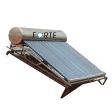 Chauffe-eau solaire sans pression à tube de verre