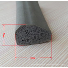 Junta de borracha de silicone de porta de construção de extrusão de alta qualidade