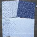 """Parisienne Blue 12X12 """"Paquete de papel Paquete de papel estampado Scrapbook"""