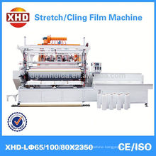High Quality Well distributed Co-extrusion Stretch Cling Film Machine