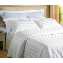 Stripe Hotel Algodão Bedding Set com Consolador Set (WS-2016270)