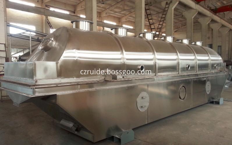 PVC resin vibrating fluid bed dryer/granules dryer