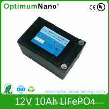 12V 10ah LiFePO4 Battery Pack