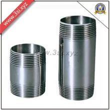 Heißer Verkauf Qualität Edelstahl Gewinde Nippel (YZF-M555)