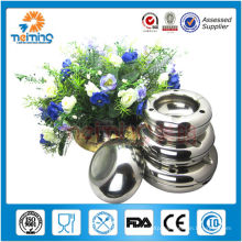 Wholesale Unique Cheap round shape manual stainless steel ashtray