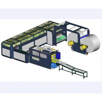 A4 copay paper crosscutting machine with packing