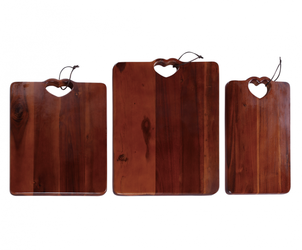 wooden cutting board set
