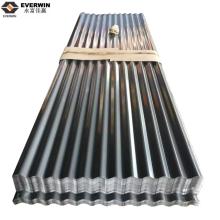 Placa ondulada de alumínio de tipo diferente