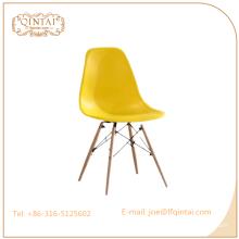 Chaise de café en plastique de meubles à la maison de vente chaude