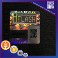 QR Code Laser Hologram Sticker