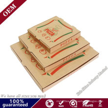 Wholesale High Quality Cheap Custom Logo Portable Reusable Corrugated Delivery Pizza Box